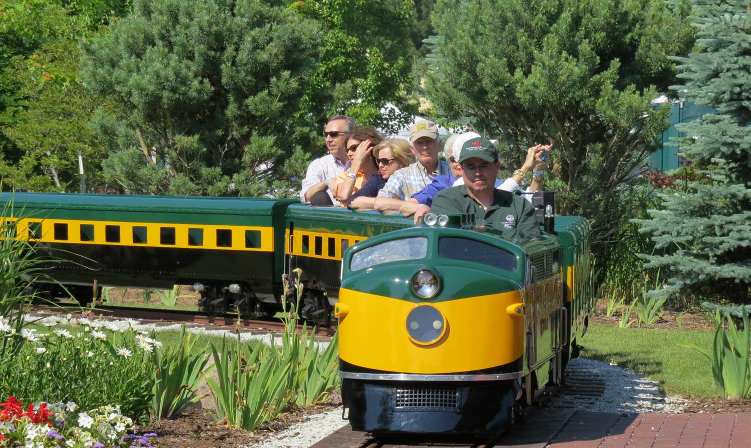 A Scenic Ride on a Vintage Train  Slider Image